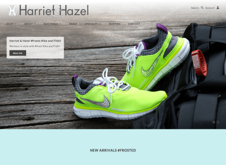 Harriet and Hazel product customizer