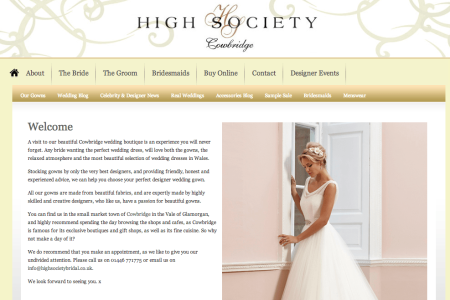 High Society Bridal