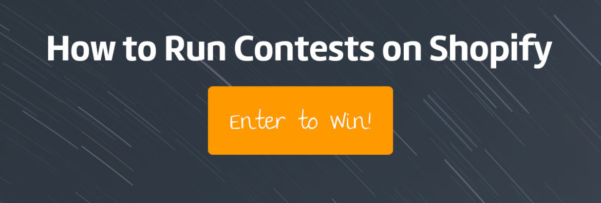 Run Contests on Shopify