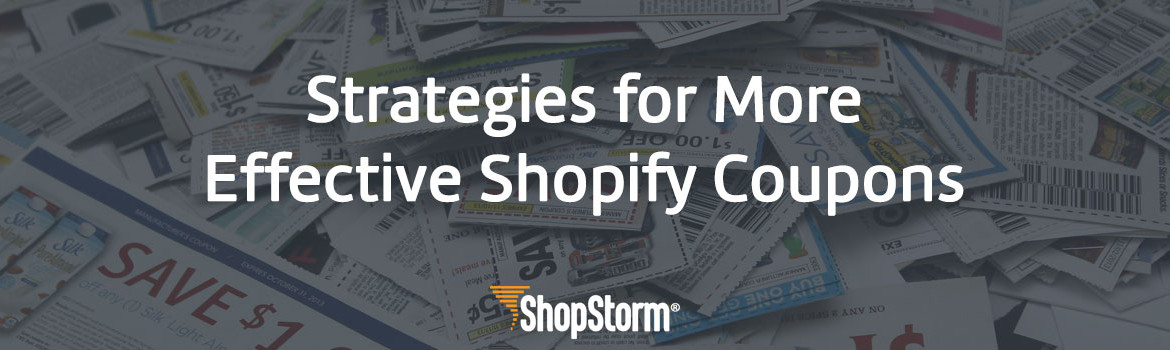 Effective Shopify Coupons