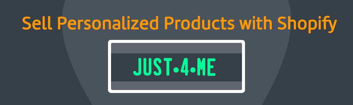sell personalized products with shopify