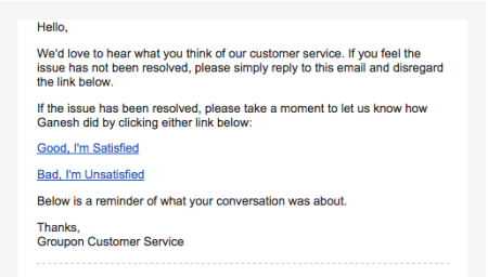 groupon email customer service