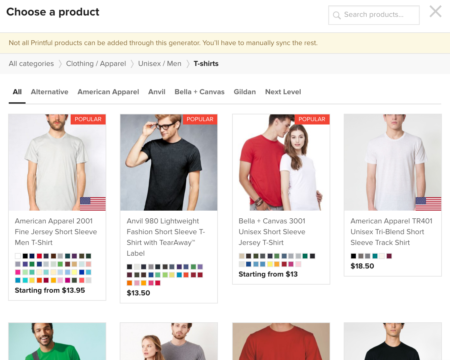 August 2016 App of the Month: Custom T-Shirts and More with