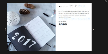 instagram feed on shopify popup post